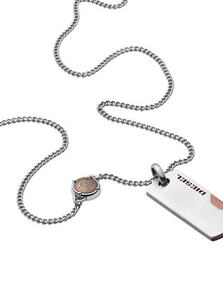 NECKLACE DX1078, Silver