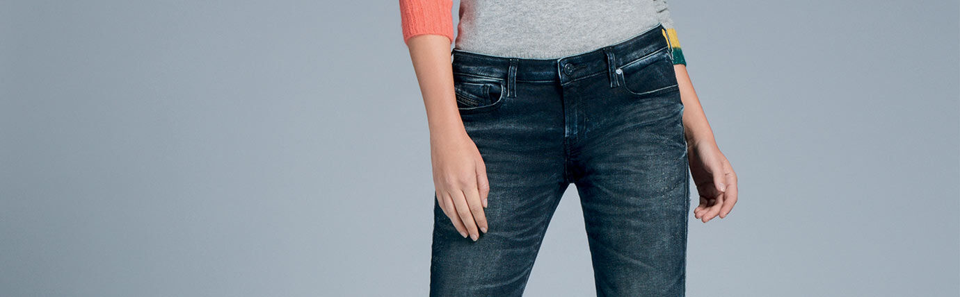 Super Skinny Denim Woman Diesel