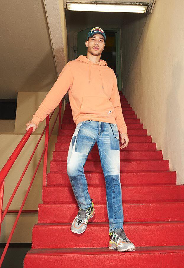 D-Strukt 009HZ, Light Blue - Jeans