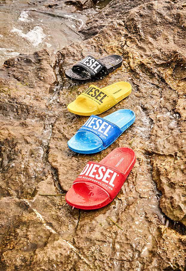FF 01 SLIPPER CH, Yellow - Footwear