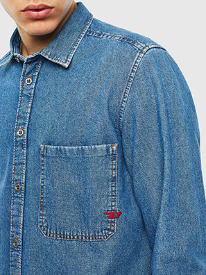 D-BER-P, Blue Jeans - Denim Shirts