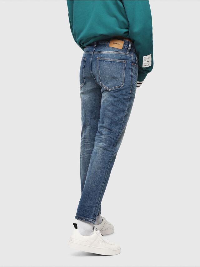 Diesel - D-Aygle 0076Y, Medium blue - Jeans - Image 2