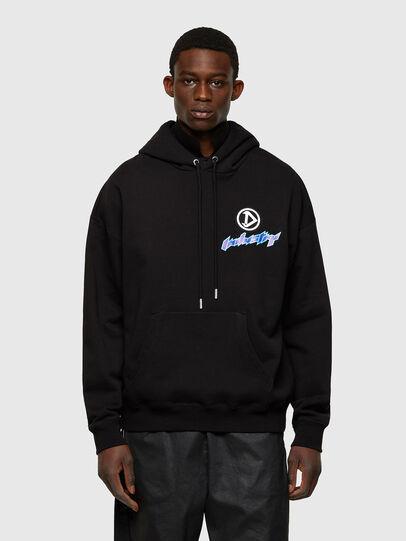 Diesel - S-UMMER-E4, Black - Sweaters - Image 1