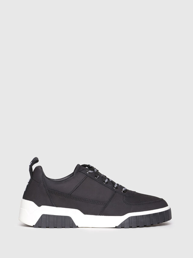 Diesel - S-RUA LC W, Black - Sneakers - Image 1