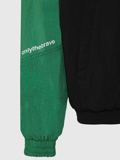 Diesel - J-ETHAN, Green/Black - Jackets - Image 6