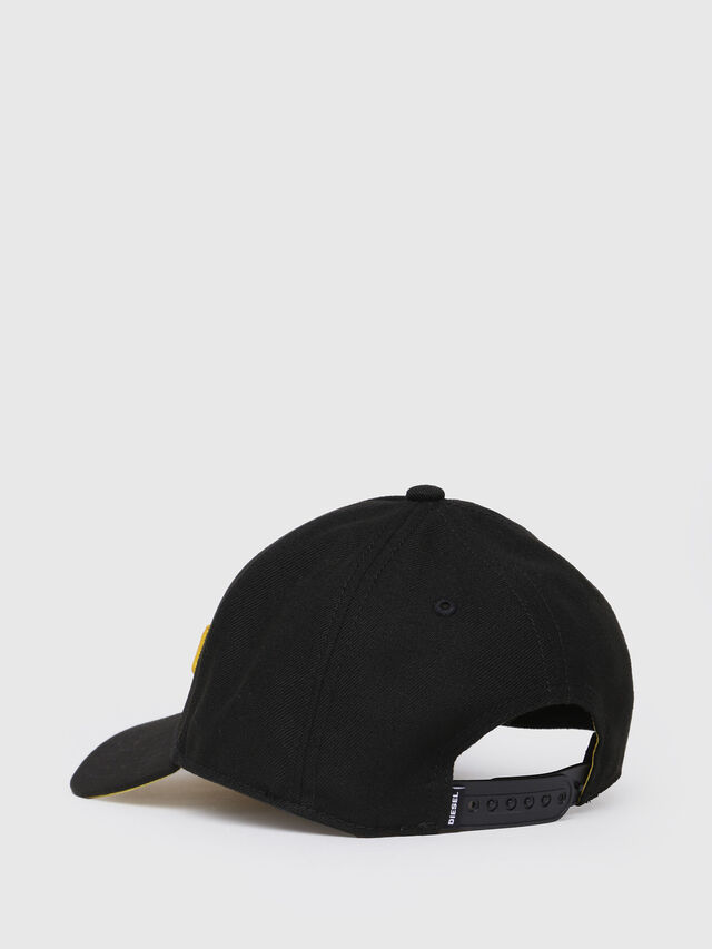 Diesel - CIDIES, Black/Yellow - Caps, Hats and Gloves - Image 2