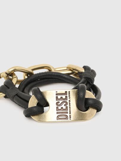 Diesel - A-SCREW, Black/Gold - Bijoux and Gadgets - Image 2
