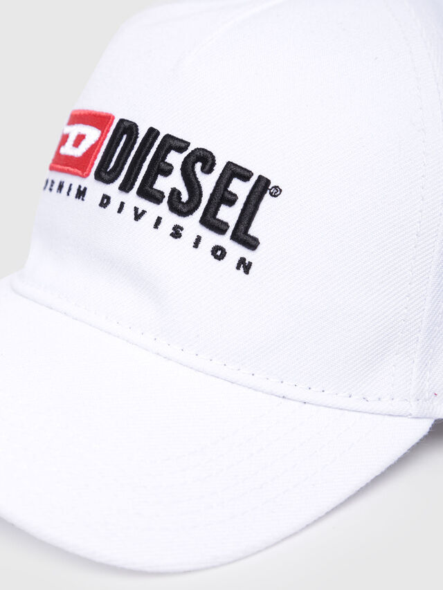Diesel - CAKERYM-MAX, White - Caps, Hats and Gloves - Image 3