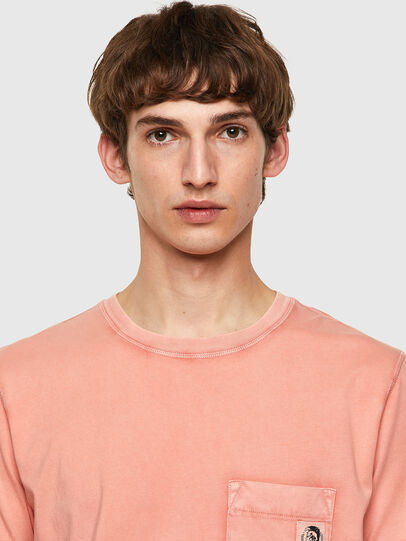 Diesel - T-WORKY-MOHI-B1, Pink - T-Shirts - Image 3