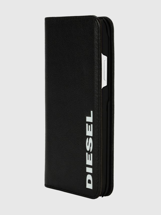 Diesel - DIESEL 2-IN-1 FOLIO CASE FOR IPHONE XR, Black/White - Flip covers - Image 3