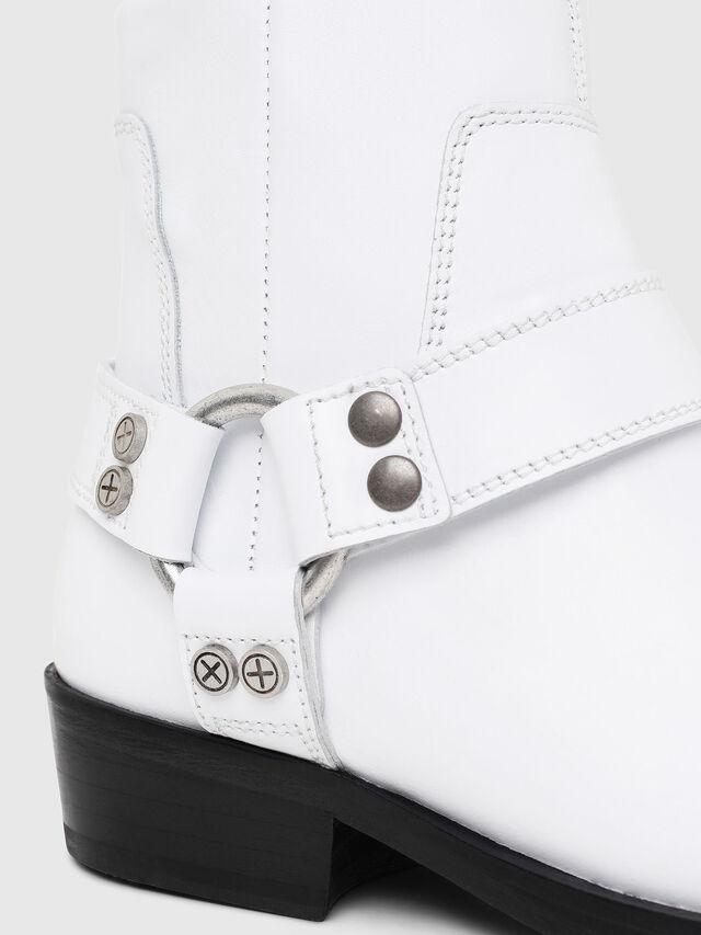 Diesel - D-BIOYS MC, White - Boots - Image 4