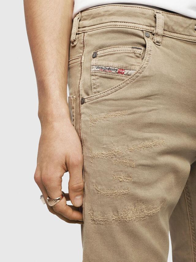 Diesel - Krooley JoggJeans 069CJ, Beige - Jeans - Image 3