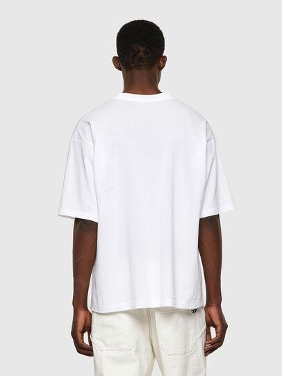 Diesel - T-BALM-B1, White - T-Shirts - Image 2