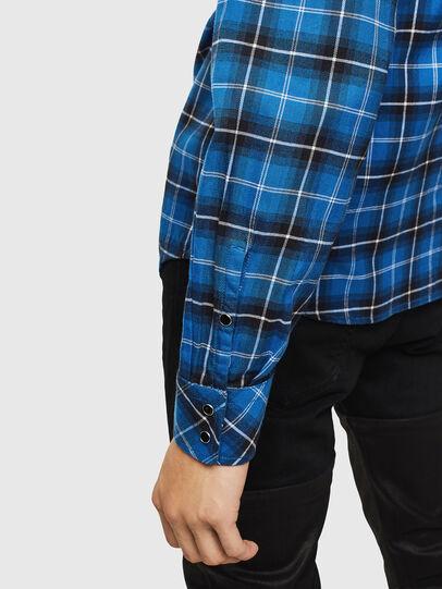 Diesel - S-EAST-LONG-N, Blue - Shirts - Image 5