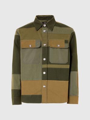 S-HORUS, Olive Green - Shirts