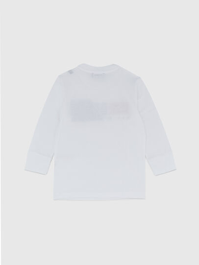 Diesel - TDIEGOCUTYB ML-R, White - T-shirts and Tops - Image 2
