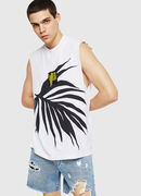 T-YOSHIMI-SL, White/Black - T-Shirts