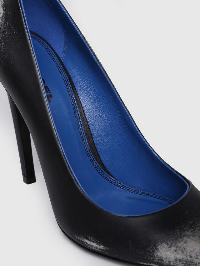 Diesel - D-SLANTY HPG, Black/Blue - Heels - Image 4