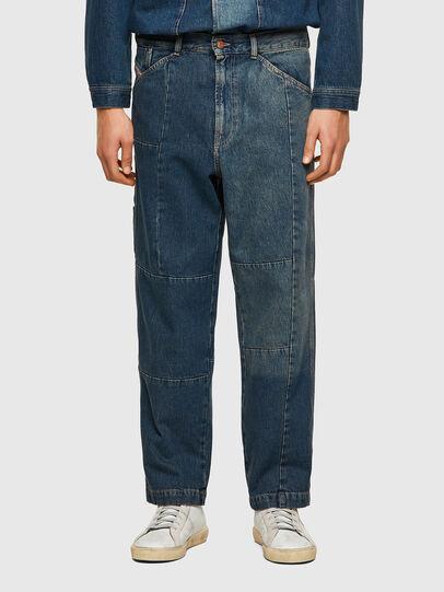 Diesel - D-FRAN-SP, Medium blue - Pants - Image 1