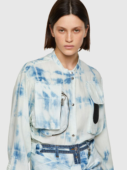 Diesel - C-OVER, Blue/White - Shirts - Image 3