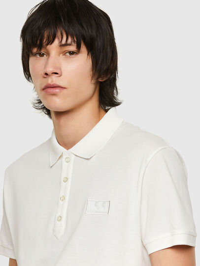 Diesel - T-WEET-E1, White - Polos - Image 3