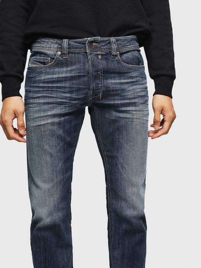 Diesel - Safado 0885K, Dark Blue - Jeans - Image 3