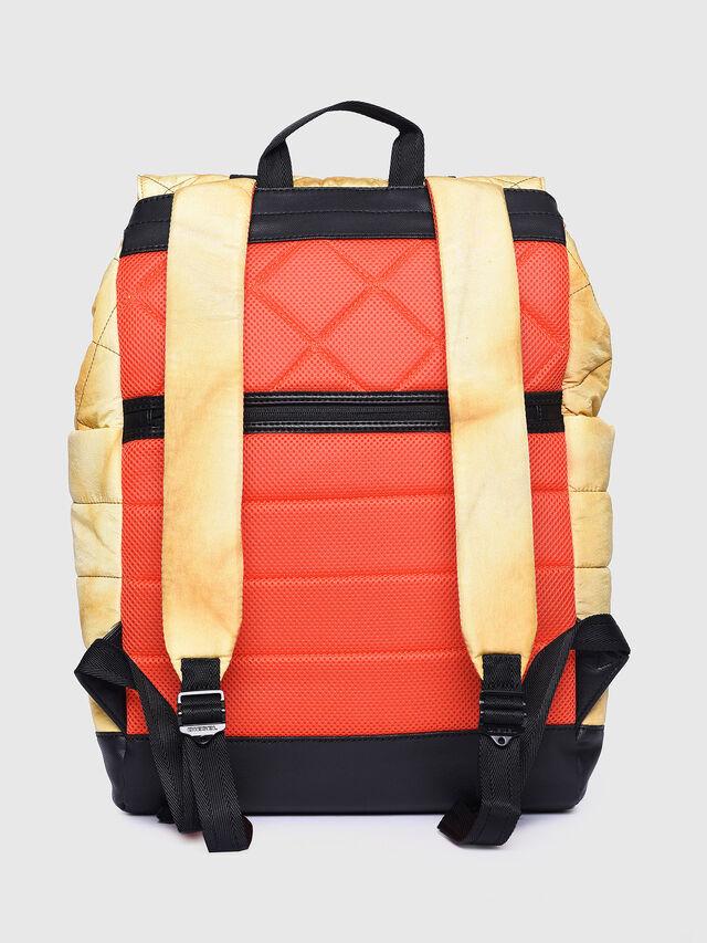 Diesel - F-HEYODA BACK L, Yellow - Backpacks - Image 2