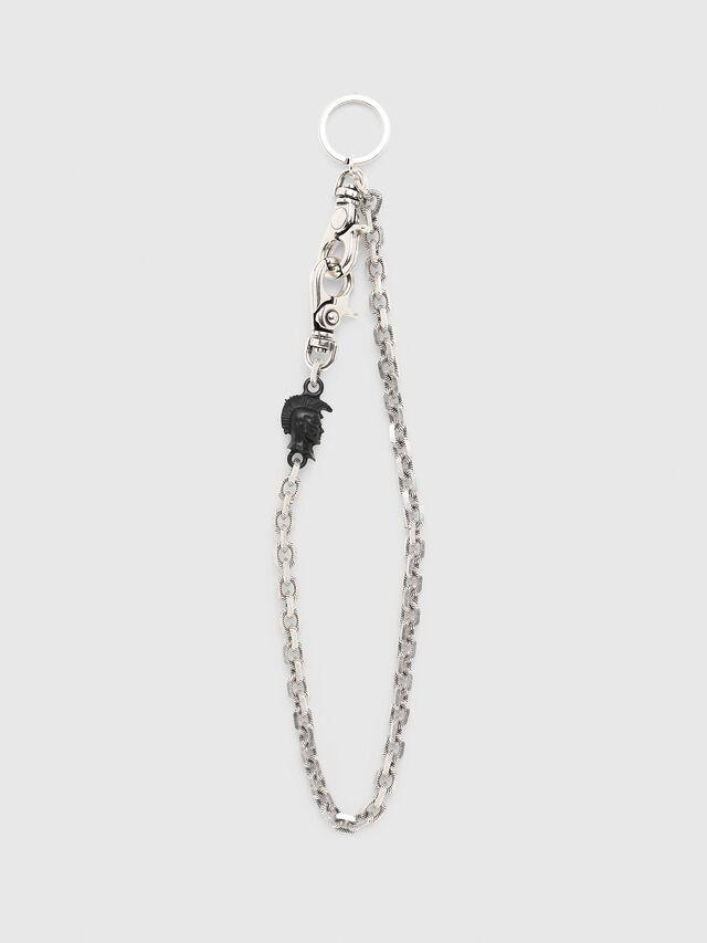 Diesel - K-GORGO, Silver/Black - Bijoux and Gadgets - Image 1