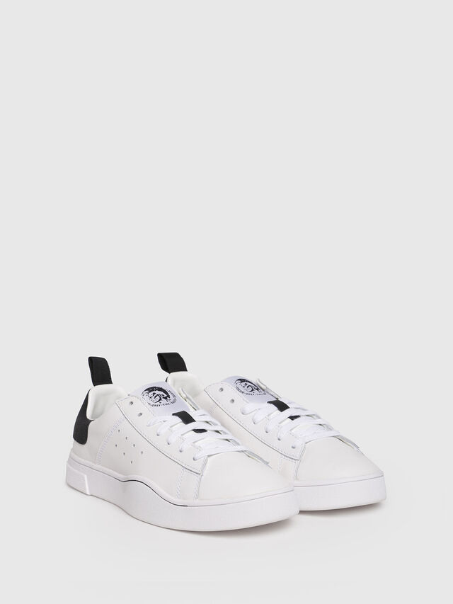 Diesel - S-CLEVER LOW W, White/Black - Sneakers - Image 2