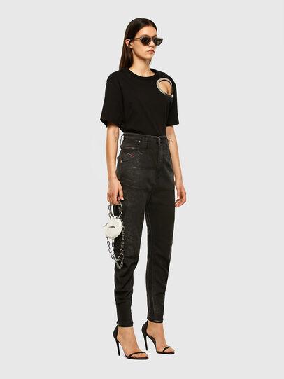 Diesel - D-Plata JoggJeans 009DS, Black/Dark grey - Jeans - Image 5