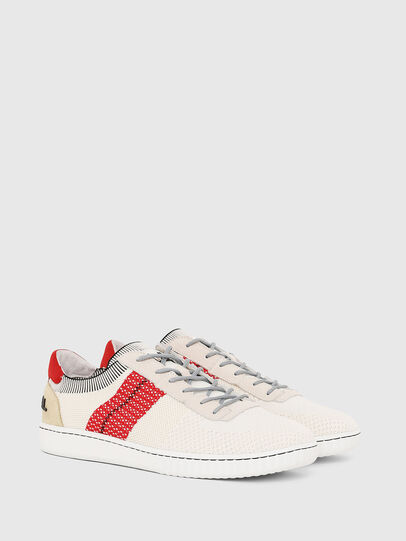 Diesel - S-MILLENIUM LOW, Cream - Sneakers - Image 2