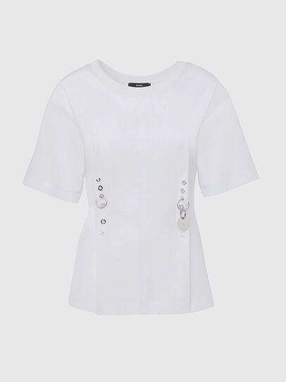 Diesel - T-SHEELA, White - T-Shirts - Image 1