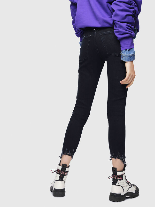 Diesel - Babhila 080AL, Dark Blue - Jeans - Image 2