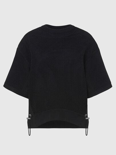 Diesel - M-ROSSI, Black - Knitwear - Image 1