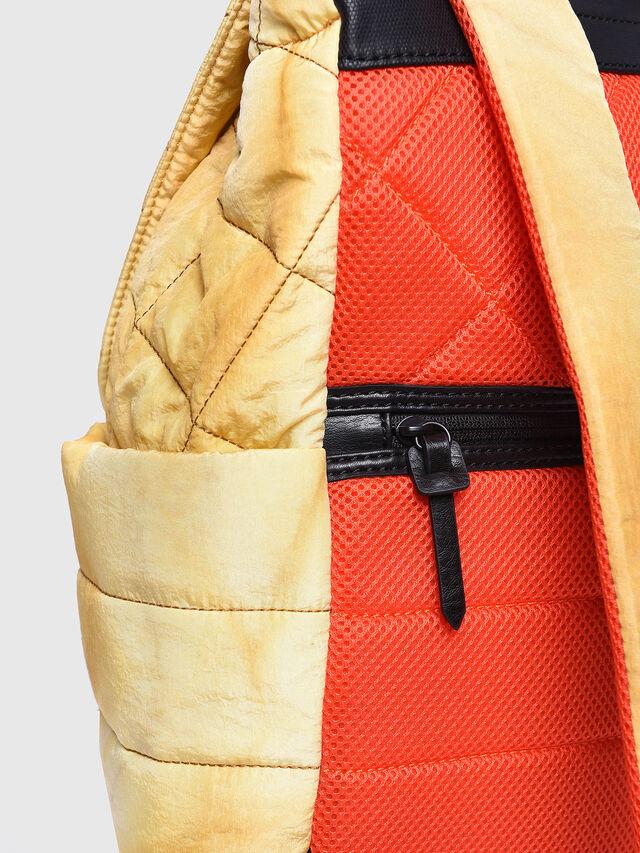 Diesel - F-HEYODA BACK L, Yellow - Backpacks - Image 5