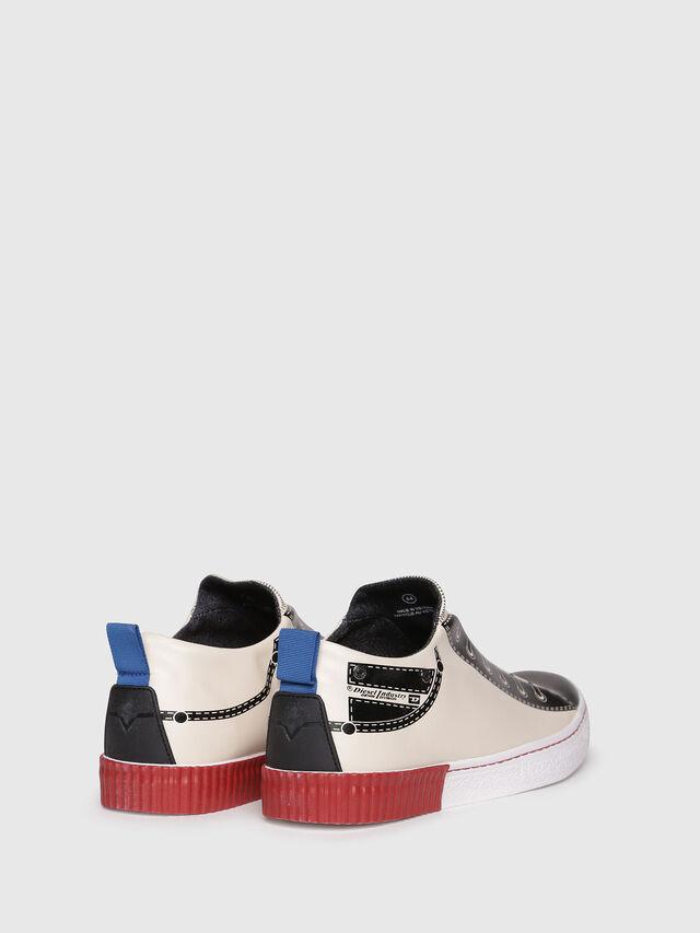 Diesel - S-DIESEL IMAGINEE LOW, White/Black - Sneakers - Image 3