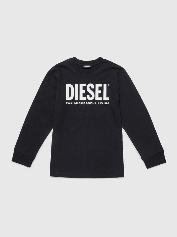 TJUSTLOGO ML, Black - T-shirts and Tops