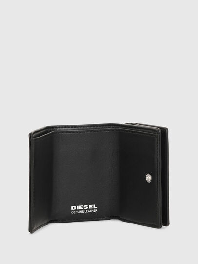 Diesel - LORETTINA, Black - Small Wallets - Image 3