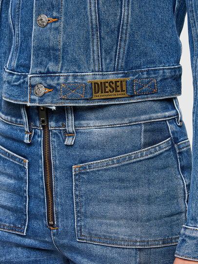 Diesel - DE-LIMMY, Medium blue - Denim Jackets - Image 4