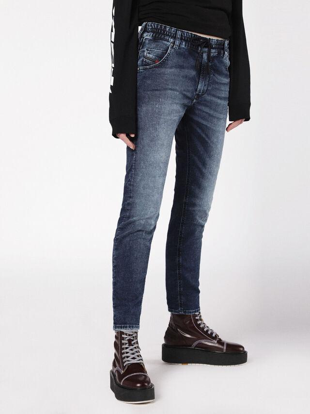 Diesel - Krailey JoggJeans 0699Z, Medium blue - Jeans - Image 3