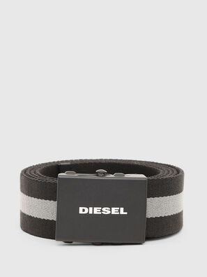 B-PLATA, Black/Grey - Belts
