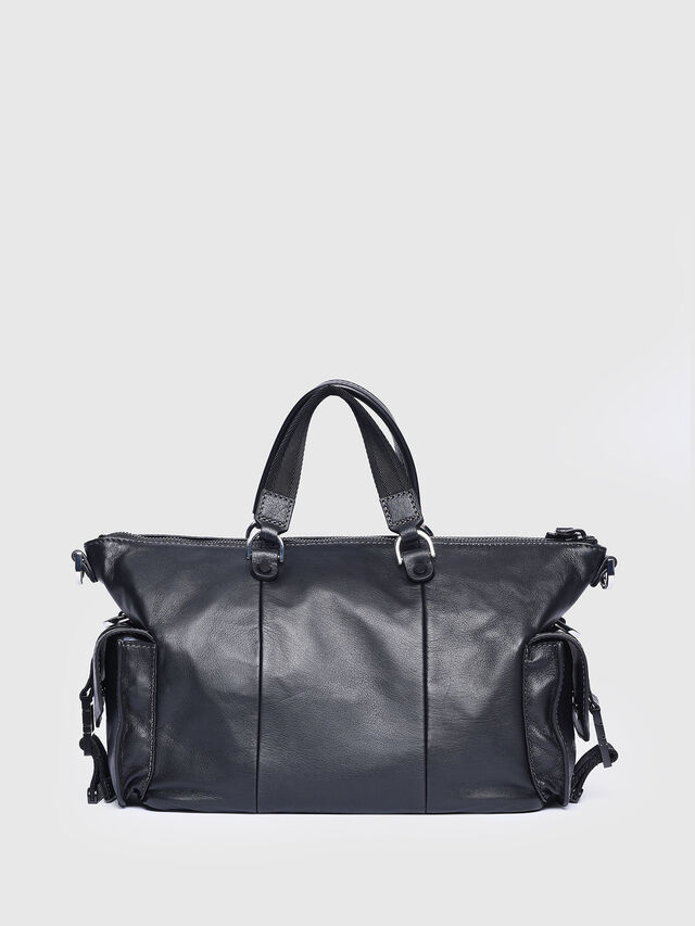Diesel - MISS-MATCH SATCHEL M, Black - Satchels and Handbags - Image 2