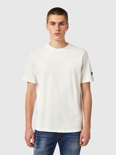 Diesel - T-JUST-B67, White - T-Shirts - Image 1