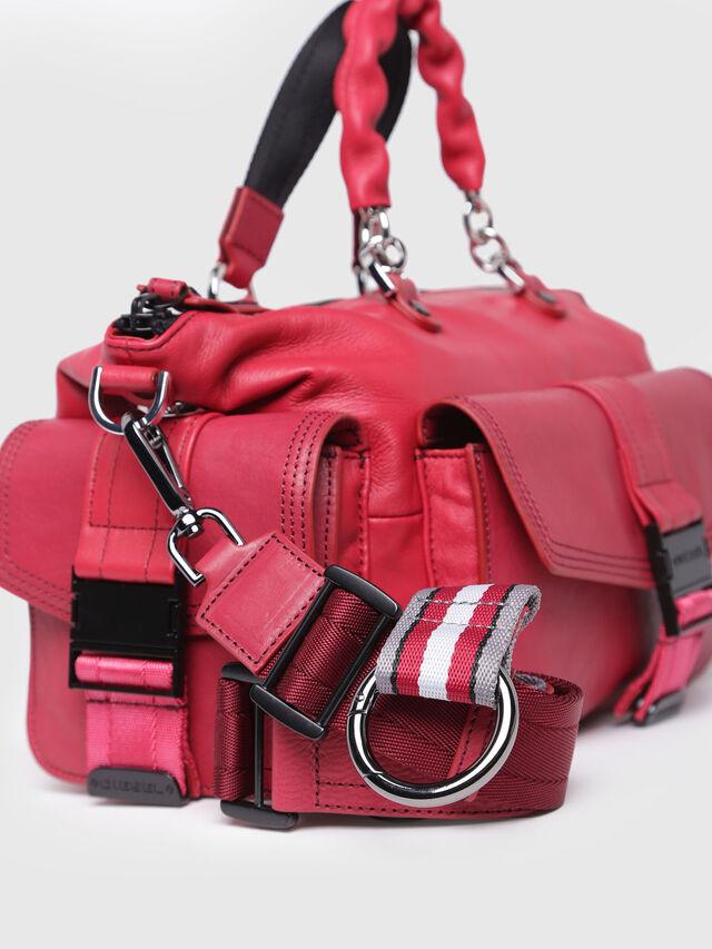 Diesel - MISS-MATCH SATCHEL M, Hot pink - Satchels and Handbags - Image 3