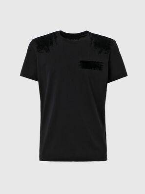 T-IEGO-A, Black - T-Shirts
