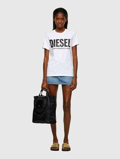 Diesel - T-SILY-ECOLOGO, White - T-Shirts - Image 4