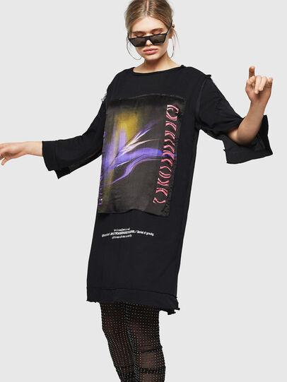 Diesel - D-PAIGEST, Black - Dresses - Image 1
