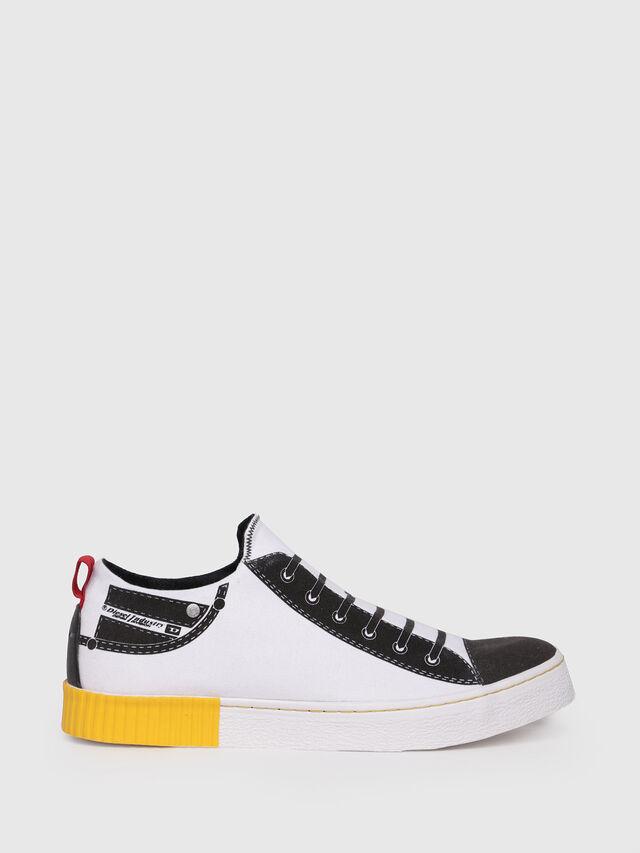 Diesel - S-DIESEL IMAGINEE LOW, White - Sneakers - Image 1