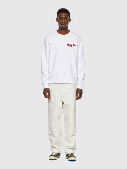 Diesel - S-GIRK-B3, White - Sweaters - Image 4