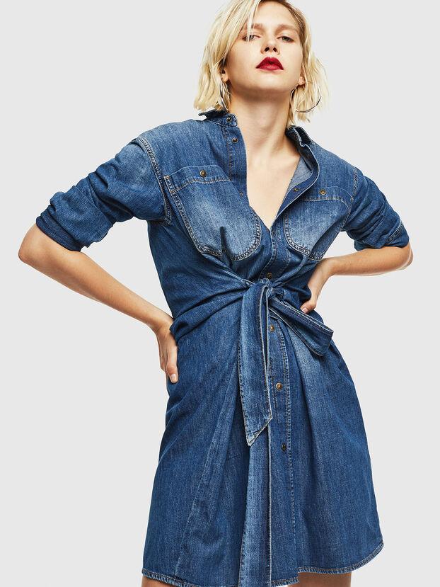 DE-BLEU, Medium blue - Dresses